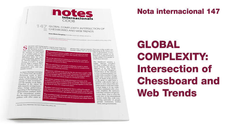 Global Complexity: Intersection of Chessboard and Web Trends