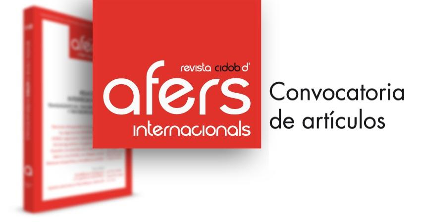 Afers Internacinals call for papers