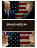 US Presidential Election. What Scenarios for the World After Obama?