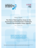The Role of Metropolitan Areas in the Governance of Development Challenges
