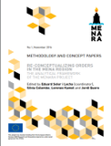Re-conceptualizing Orders in the MENA Region The Analytical Framework of the MENARA Project