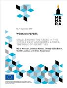 challenging the state in the middle east and north africa the role of identities publication full