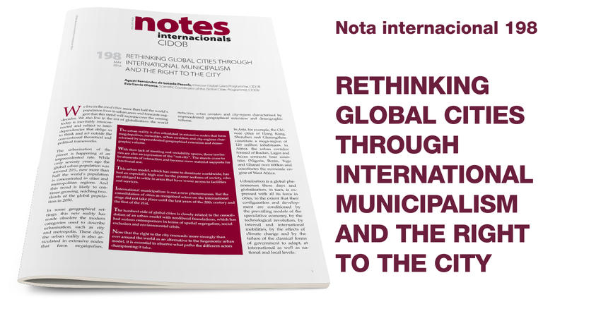 Rethinking Global Cities Through International Municipalism and the Right to the City
