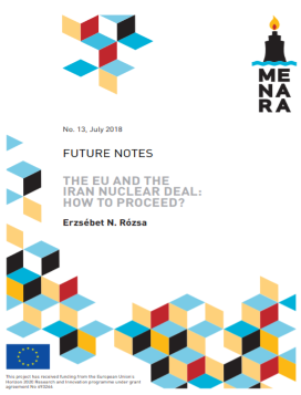 The EU and the Iran nuclear deal: how to proceed?
