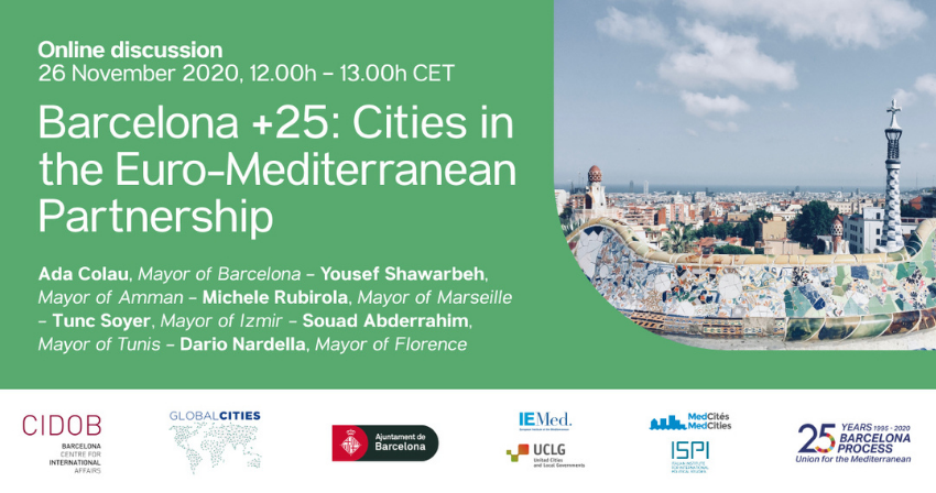 Barcelona +25: Cities in the Euro-Mediterranean Partnership