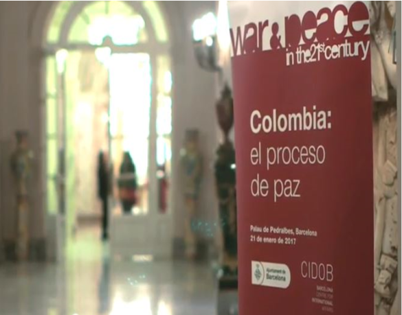 War & Peace in the 21st Century.  Colombia: el proceso de paz