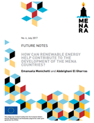 How can Renewable Energy Help Contribute to the Development of the MENA Countries?