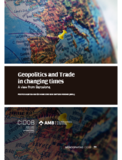 Geopolitics and Trade in changing times. A view from Barcelona