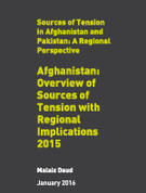 Afghanistan: Overview of Sources of Tension with Regional Implications 2015