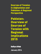 Pakistan: Overview of Sources of Tension with Regional Implications 2015