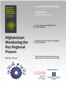Afghanistan: Monitoring the Key Regional Powers. Report 3