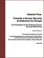 Helsinki Plus: Towards a Human Security Architecture for Europe
