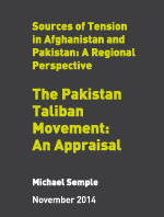 The Pakistan Taliban Movement: An Appraisal